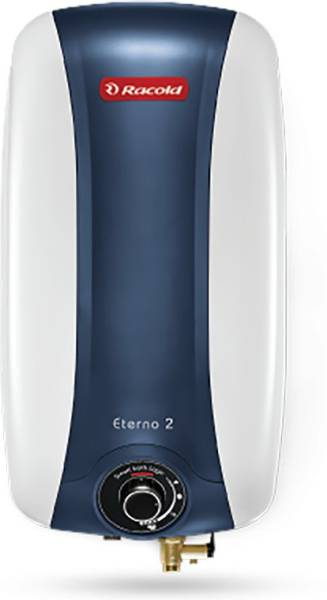 Racold 10L Storage Water Geyser (Eterno 2 Series, Grey & Blue)