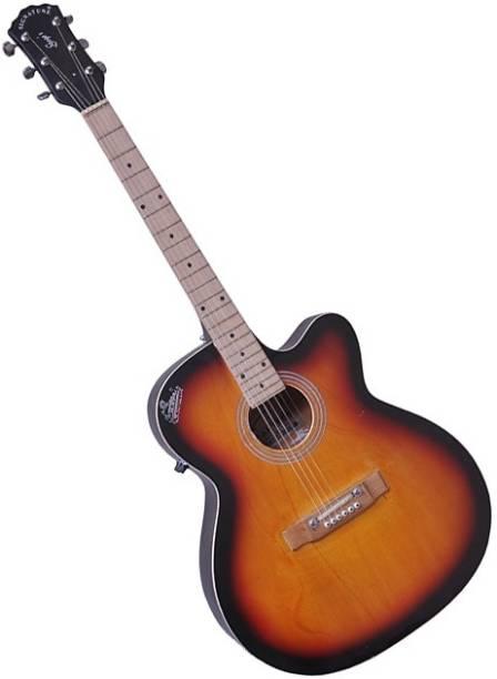 Signature Topaz Sunburst Acoustic Guitar Rosewood Rosewood