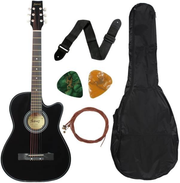 Juarez 038C Acoustic Guitar Linden Wood, Ebony Ebony Right Hand Orientation