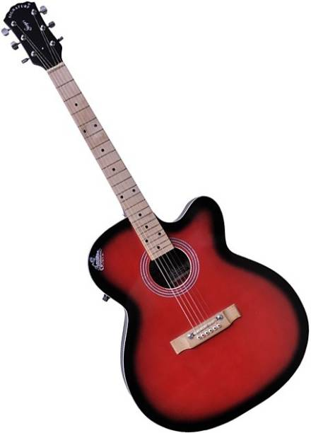 Signature Topaz Red Acoustic Guitar Rosewood Rosewood