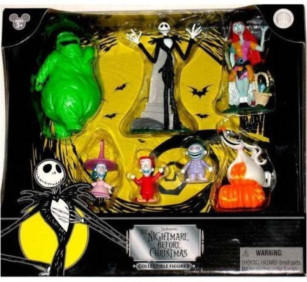 Nightmare Before Christmas Disney Tim Burton's Figurine Figure Set