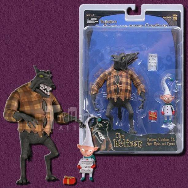 Nightmare Before Christmas Series 3 Action Figure The Wolfman