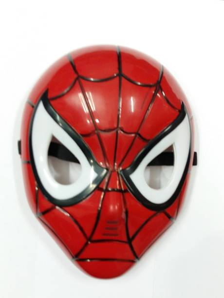 Spiderman Mask with LED Lighting