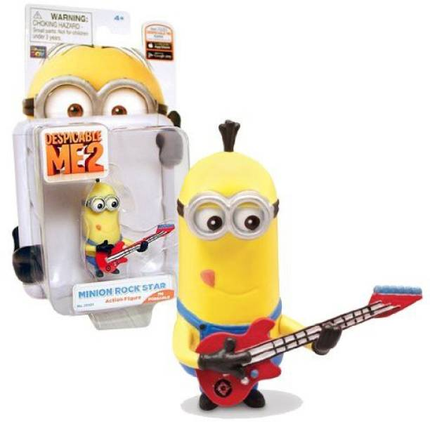 Thinkway Despicable Me 2 Minion Rock Star Poseable