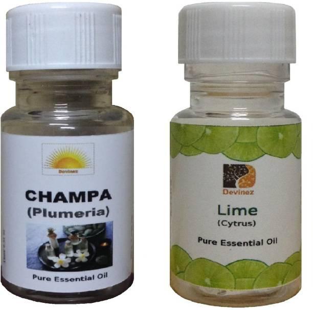 Devinez Champa, Lime Aroma Oil