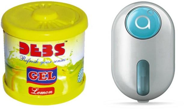 Debonair Debonair Lemon, Godrej Click Blue (9ml) Car Freshener