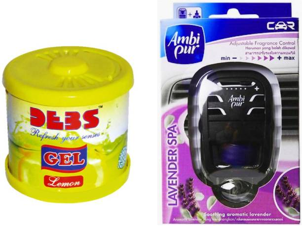 DEBONAIR Debonair Lemon, Ambi Pur Lavender (7.5ml) Car Freshener