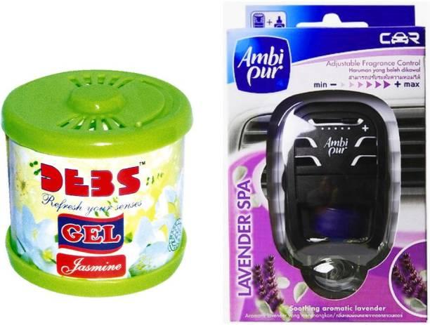 DEBONAIR Debonair Jasmine, Ambi Pur Lavender (7.5ml) Car Freshener