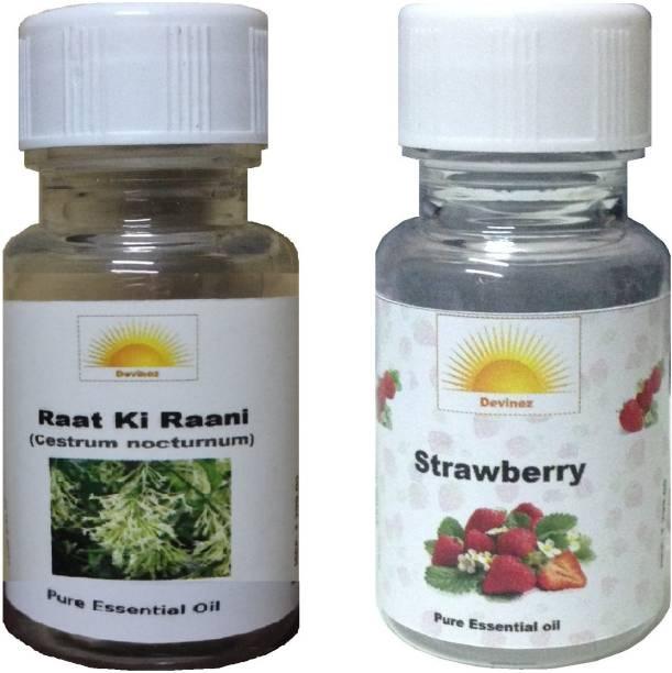 Devinez Strawberry, Raat Ki Raani Aroma Oil