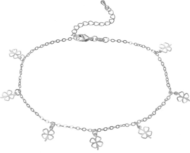 silver anklets buy anklets silver payal online at best prices in Casio CK 500 silver shoppee sterling silver anklet
