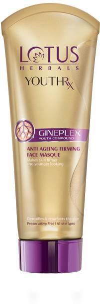Lotus Organics+ Herbal Youth RX Anti Ageing Firming Face Masque