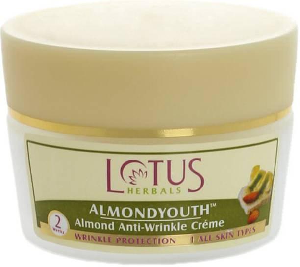 LOTUS Almond Anti Wrinkle Cream