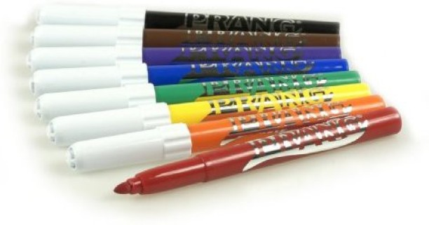 Total of 48 Markers 12 Assorted Classic Colors 80848 Bullet Tip Prang Art Markers