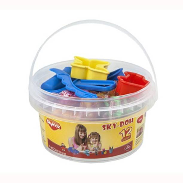 Do it yourself kits toys buy do it yourself kits toys online at mitashi sky kidz sky doh 180 gms solutioingenieria Image collections