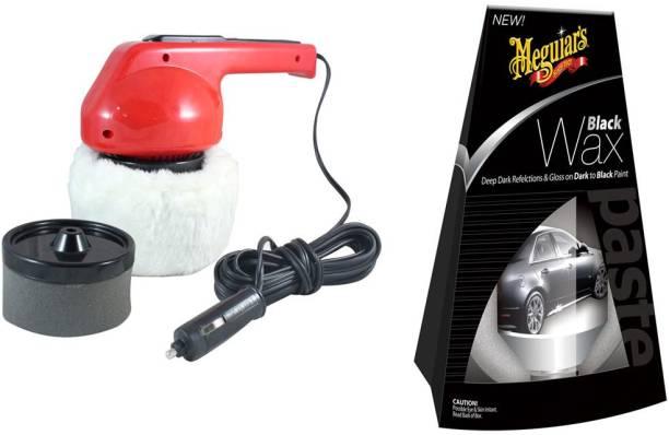 Coido 1 Veichle Polish, 1 Meguiars Car/Bikes Black Wax Polish - 198gm Combo