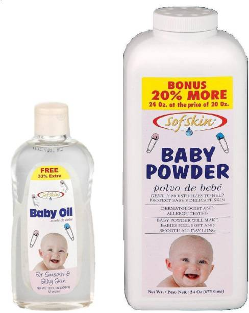 Sofskin BABY OIL AND BABY POWDER