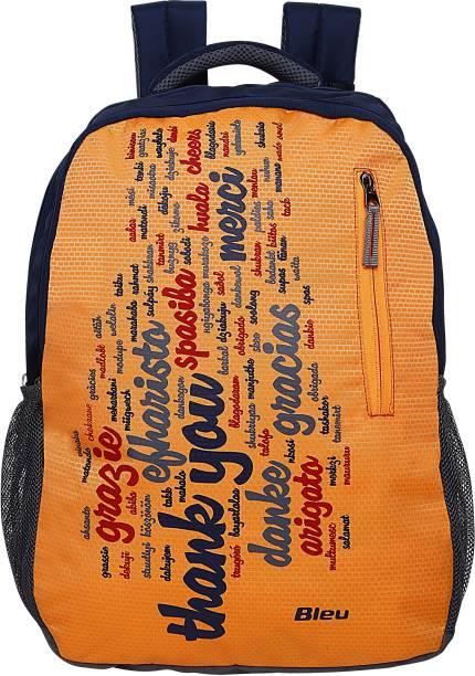 2cd686eb623c Bleu Urban Star Daypack Blue   Orange- 290 30 L Backpack