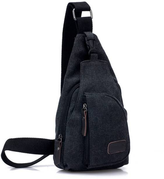 Aeoss Messenger Sling Fashion Shoulder Canvas Men Sport Casual Outdoors  Hiking Travel 2 L Backpack ca80008e3c60b