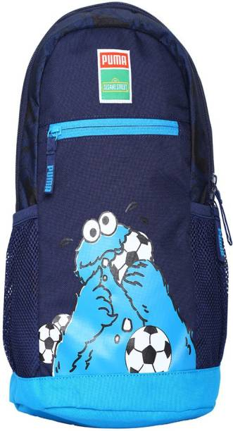 Puma Puma Sesame Street 14 L Laptop Backpack (peacoat-cookie monster) 14 L d8ce99162b72d