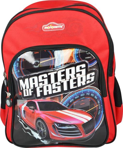Majorette R8 Silver School Backpack 16 Waterproof Shoulder Bag