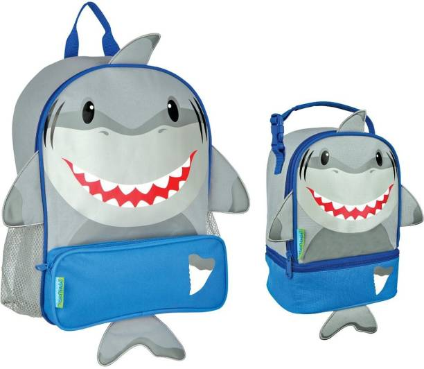 Stephen Joseph Boys Sidekick Shark Backpack and Lunch Pal Combo for Kids  School Bag 49c3c4fb7afe8