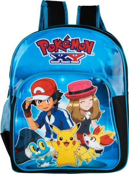 Pokemon Blue And Black 16 Inch School Bag