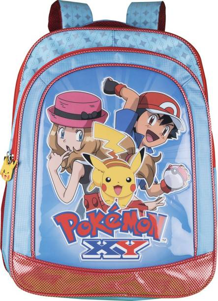 PoKeMoN Premium (Primary 1st-4th Std) Waterproof School Bag