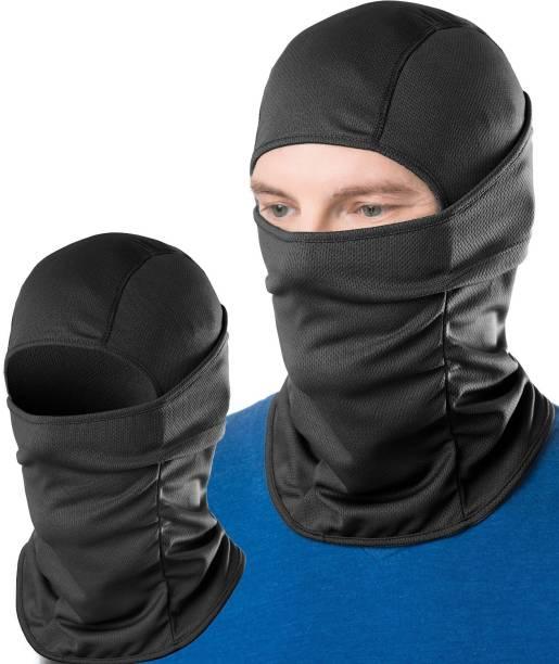 LeGear Black Bike Face Mask for Men & Women