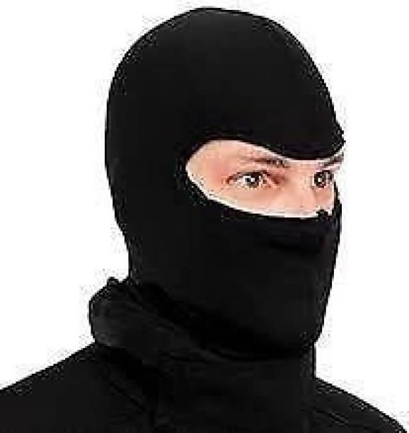 meeu arts Black Bike Face Mask for Boys
