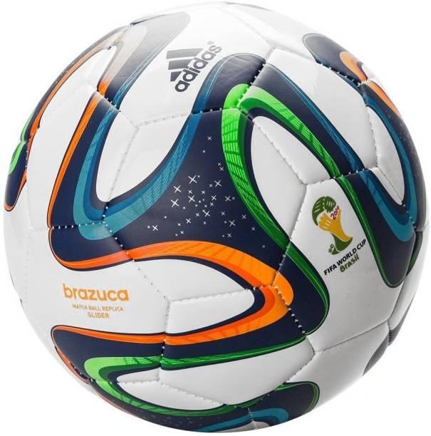 ADIDAS Brazuca Glider Match Replica Football - Size: 5