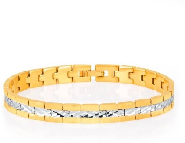 Sukkhi Alloy Gold Plated Rhodium Bracelet