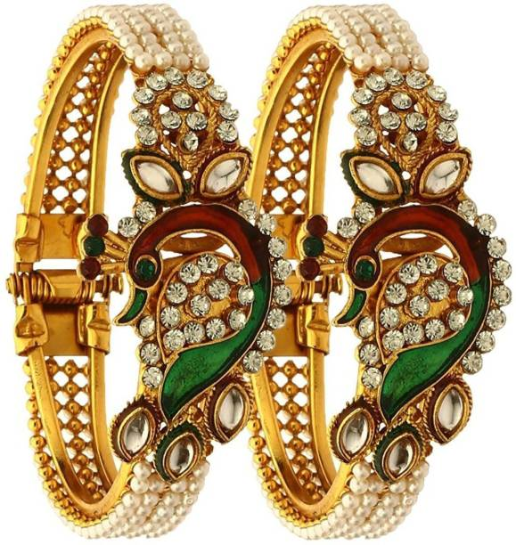 gold jewellery women emerald jewelry pair in bangles set of emeralds baby womens and for bangle size ruby made india