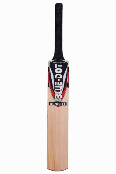 407d4f97676 Blue Dot Master Blaster Leather Kashmir Willow Cricket Bat