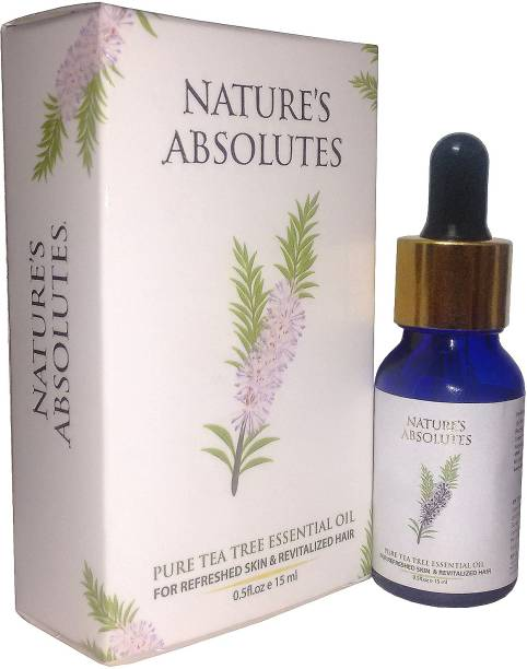 Nature's Absolutes Pure Tea Tree Essential Oil