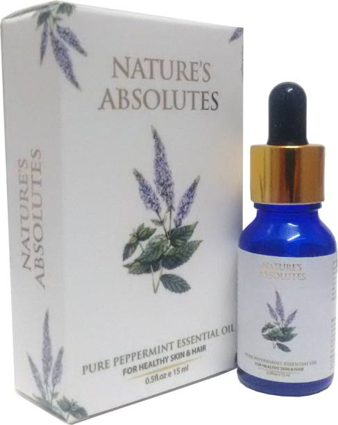 Nature's Absolutes Pure Peppermint Essential Oil