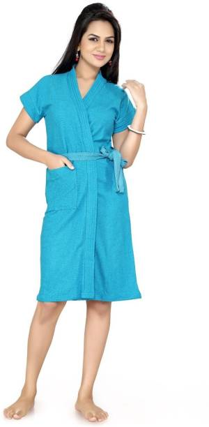 Be You Turqoise Blue XXL Bath Robe 931ba0988