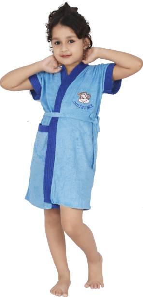 FeelBlue Sky Blue XL Bath Robe