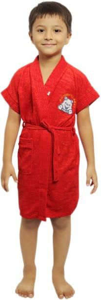 FeelBlue Red XL Bath Robe