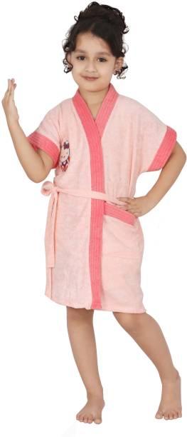 FeelBlue Peach Medium Bath Robe