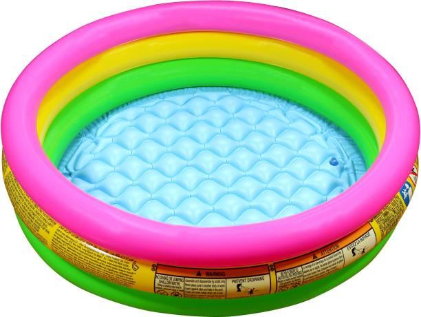 INTEX 3ft Inflatable Baby Pool Baby Bath Seat