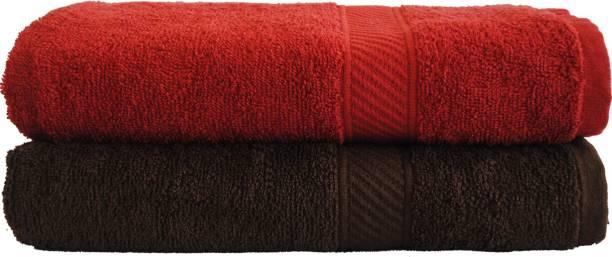 TRIDENT Cotton 400 GSM Bath Towel Set