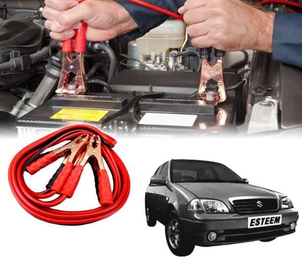 AUTO PEARL Car 500 Amp Heavy Duty Booster Anti Tangle Copper Core For - Maruti Suzuki Esteem 7.5 ft Battery Jumper Cable