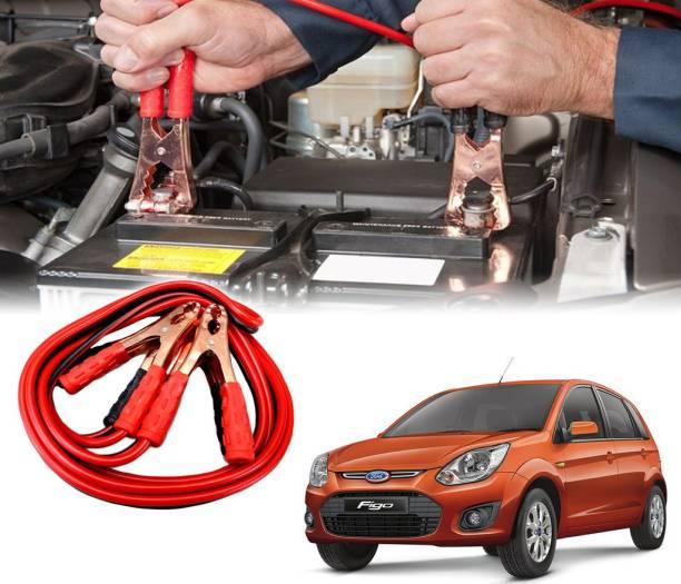 AUTO PEARL Car 500 Amp Heavy Duty Booster Anti Tangle Copper Core For - Ford Figo 7.5 ft Battery Jumper Cable