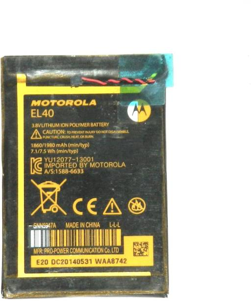 MOTOROLA Mobile Battery For  Motorola Moto E XT1019 XT830C XT1021-EL40