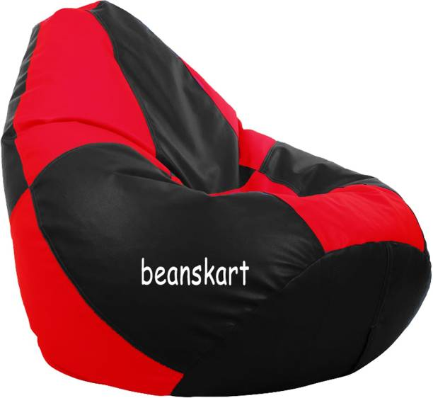 Beanskart XXXL Tear Drop Bean Bag Cover  (Without Beans)
