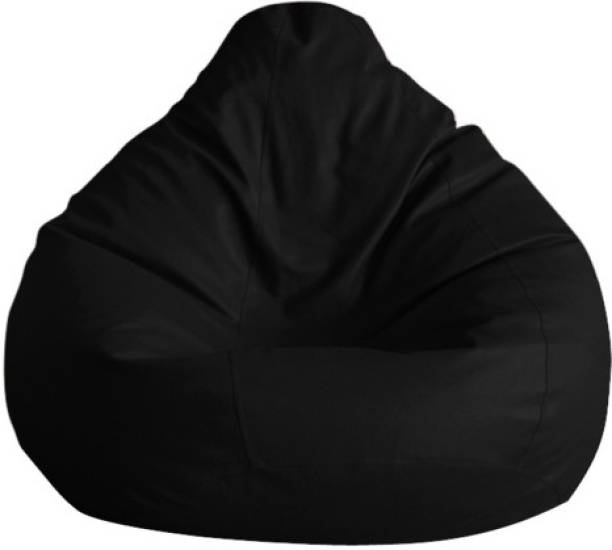 The Furniture Store XXL Tear Drop Bean Bag Cover  (Without Beans)