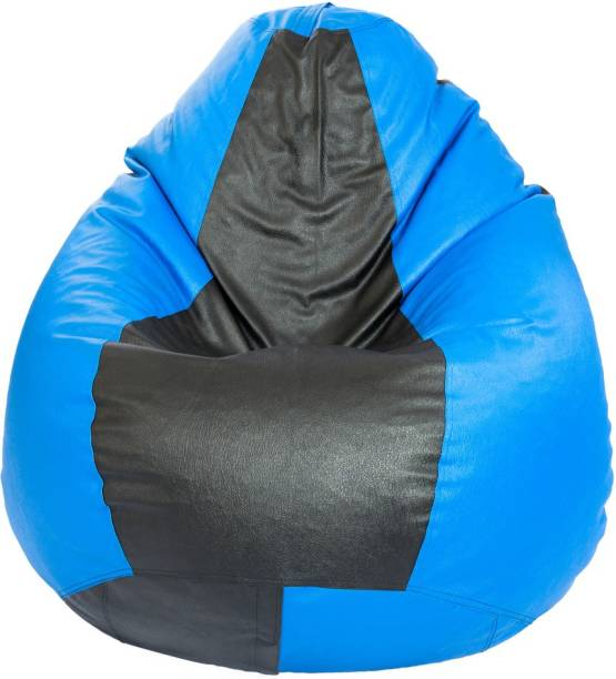 Styleco XXL Tear Drop Bean Bag Cover  (Without Beans)