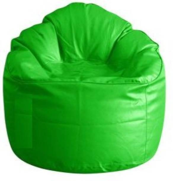 Parshva XXXL Chair Bean Bag Cover  (Without Beans)
