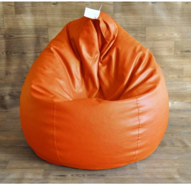 Rockyard Large Chair Bean Bag Cover  (Without Beans)