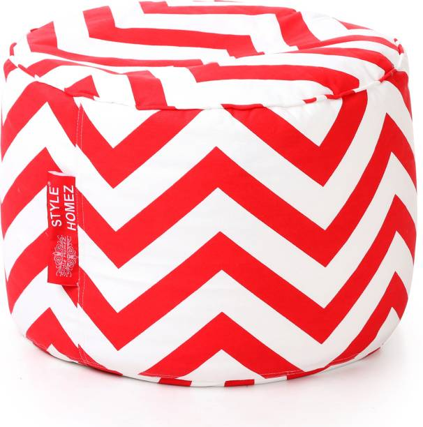 STYLE HOMEZ Large Chair Bean Bag Cover  (Without Beans)